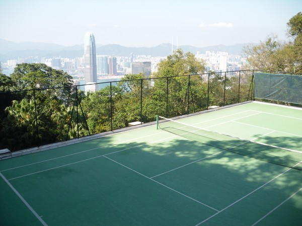 Court de tennis, villas Hong Kong