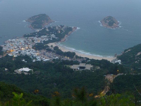 Shek O, photo prise depuis Dragon Back