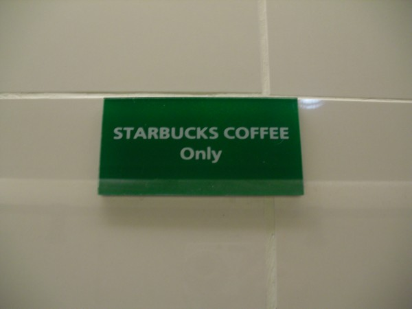 Toilettes de Starbucks