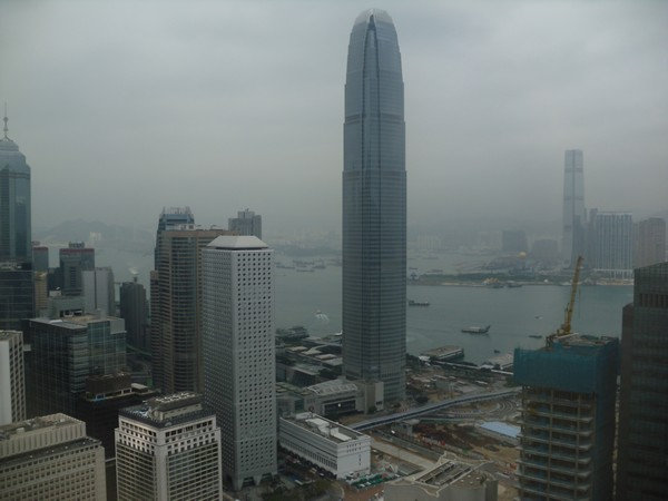 Vue sur Two International Finance center